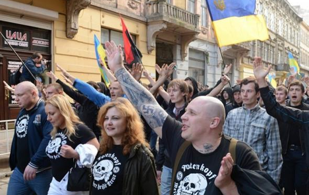 В Украине фашизма нет?