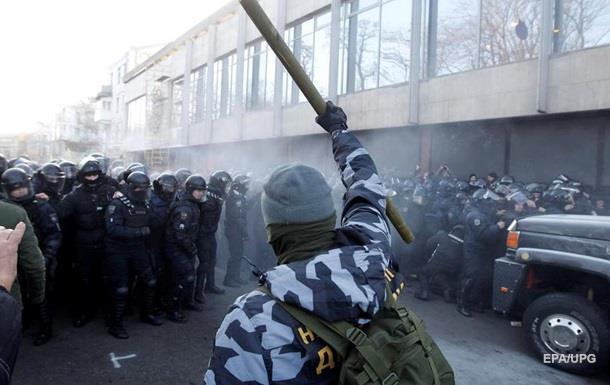 Силовики під ВР затримали 26 протестувальників
