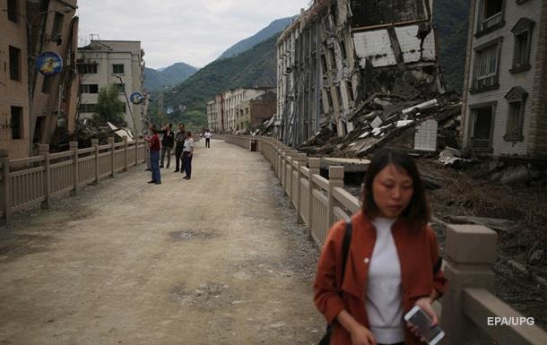 Китай всколыхнуло мощное землетрясение