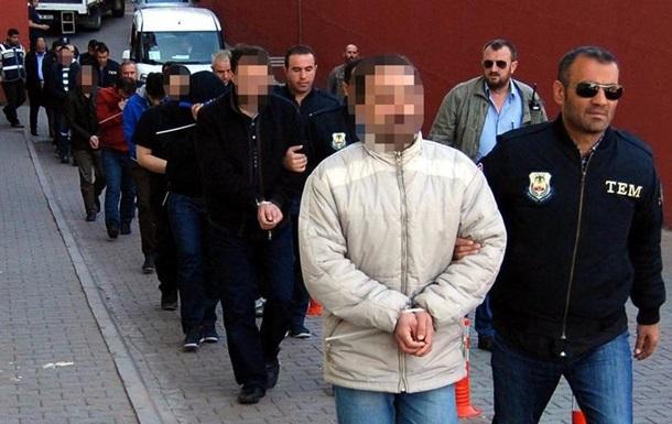 У Туреччині за один день затримали майже 200 осіб