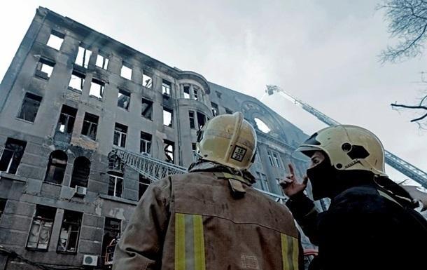 Выживший пожарный рассказал о ЧП в одесском колледже
