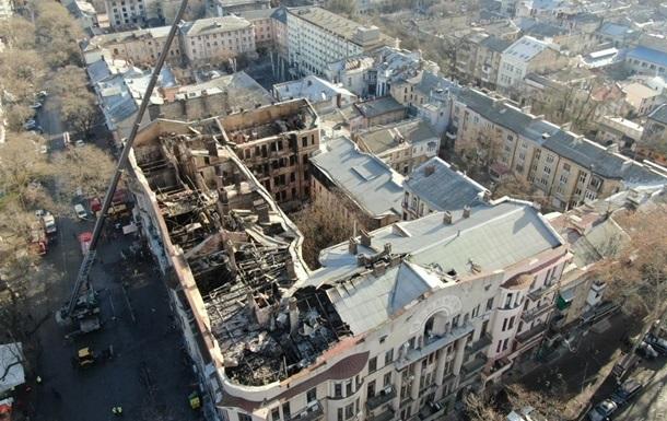 Пожежа в Одесі: ДСНС ховала від слідства дозвільні документи