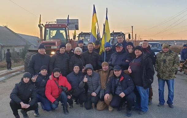 Противники рынка земли заблокировали границу