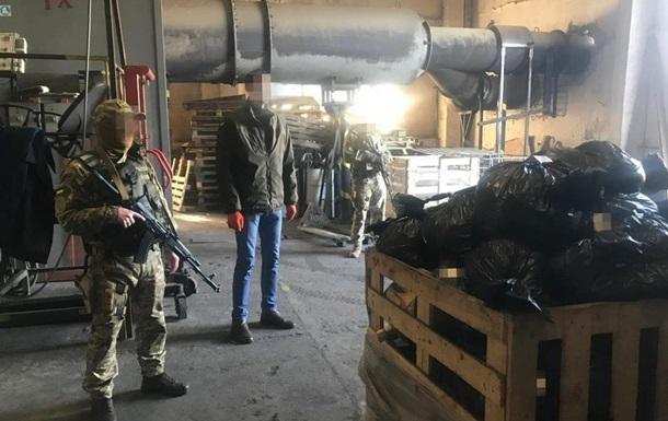 СБУ спалила в печі чотири тонни наркотиків