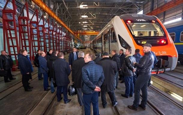 Новий український потяг пройшов випробування