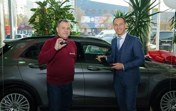 Альфа-Банк Украина подарил предпринимателю авто премиум-класса