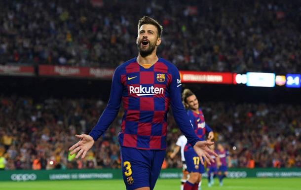 Піке вибив м яч із лінії воріт та врятував Барселону від голу Реала