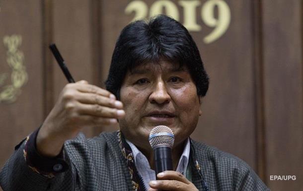 У Болівії видали ордер на арешт Ево Моралеса
