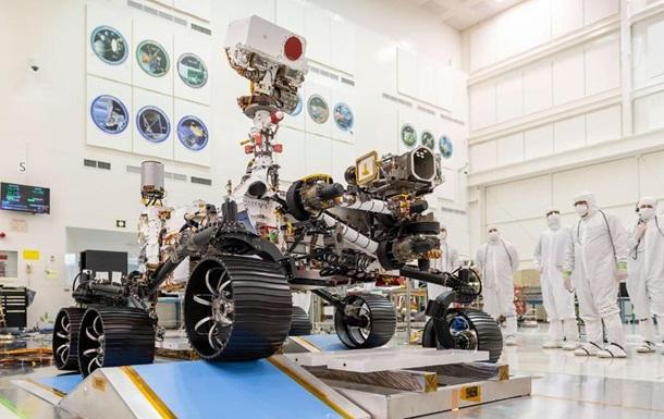 NASA показало испытания марсохода Mars 2020