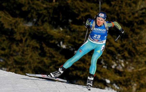 Кубок IBU: Меркушина завоювала бронзу в спринті