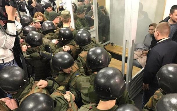 Дело Шеремета: силовикам пришлось штурмовать суд