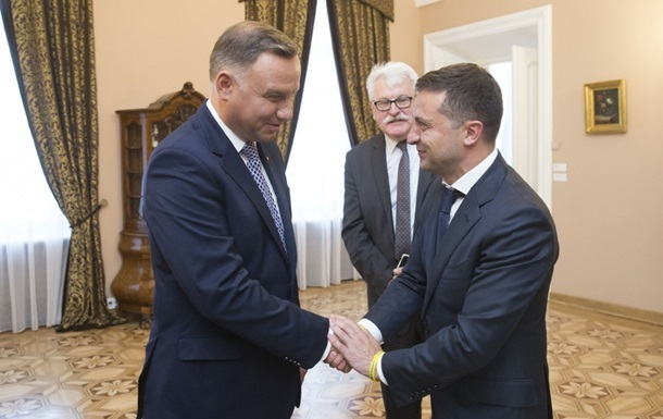 Зеленський і Дуда обговорили ряд питань
