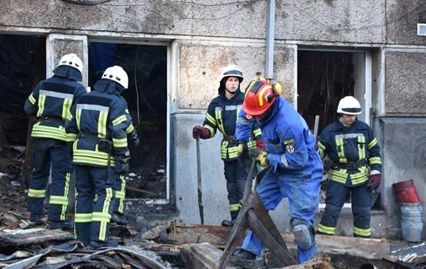 Після пожежі в Одесі звільнили обласне керівництво ДСНС