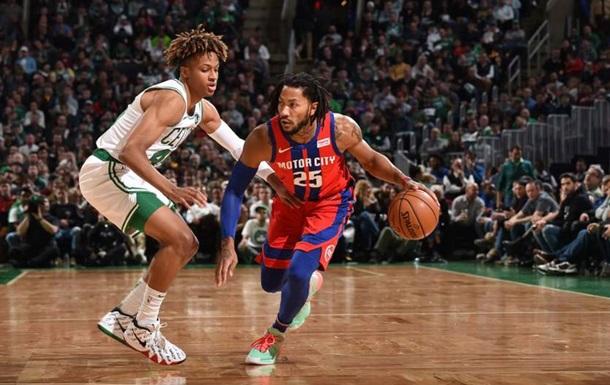 НБА: Детройт уступил Бостону, Майами обыграл Нью-Йорк