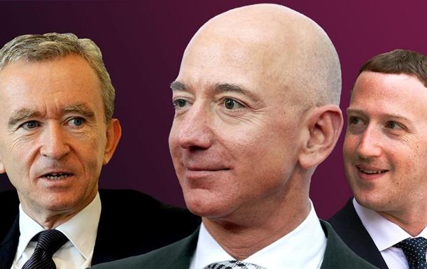 Найуспішніші і бізнесмени-лузери. Рейтинг Forbes
