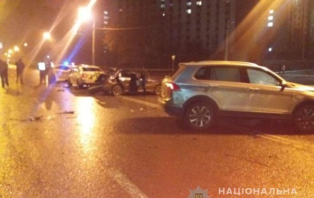 В Харькове в масштабном ДТП пострадали полицейские