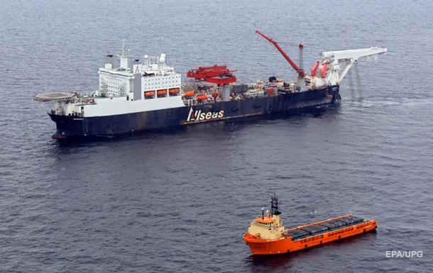 Підрядник Північного потоку-2 відвів судна з району прокладки трубопроводу