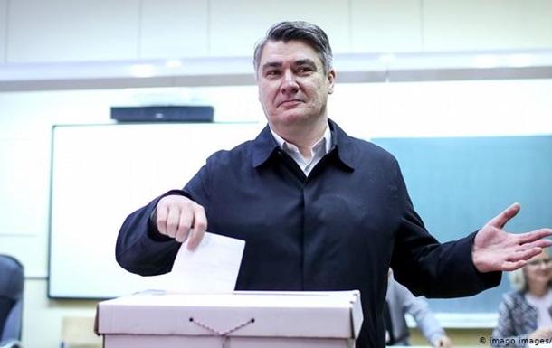 На виборах президента в Хорватії перемагає опозиціонер - екзит-поли
