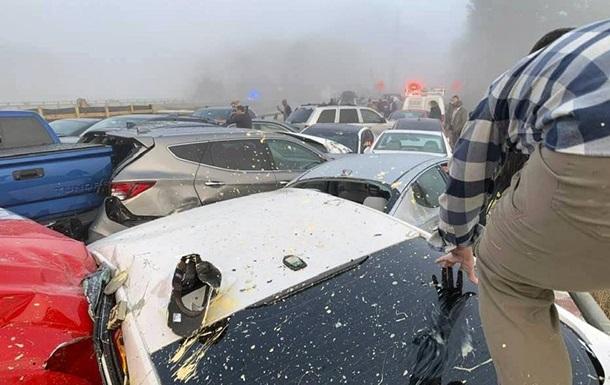 Масштабна аварія в США: зіткнулися 69 авто