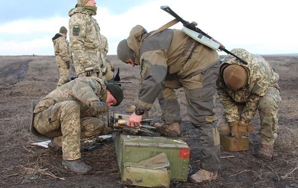 Штаб ОСС: Сепаратисти б ють із забороненої зброї