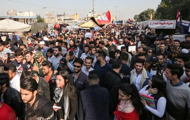 В Іраку тисячі людей вийшли на антиурядові протести