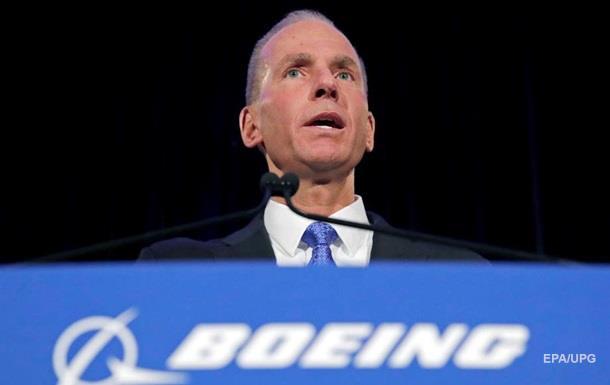 Глава Boeing объявил об отставке