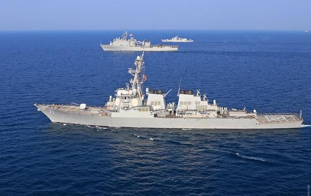 В Одессу зашел ракетный эсминец США