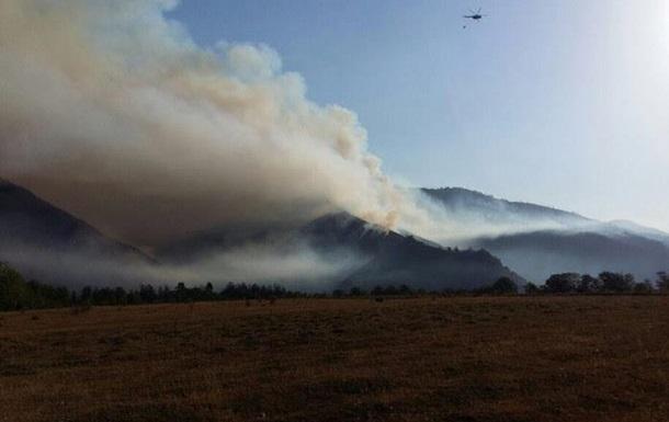 Грузію охопили лісові пожежі
