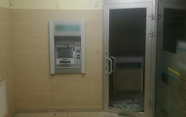 У Харкові вночі підірвали банкомат