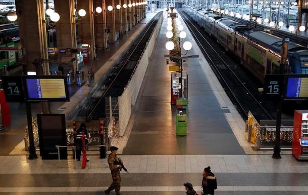 У Франції попри Різдво триває страйк залізничників