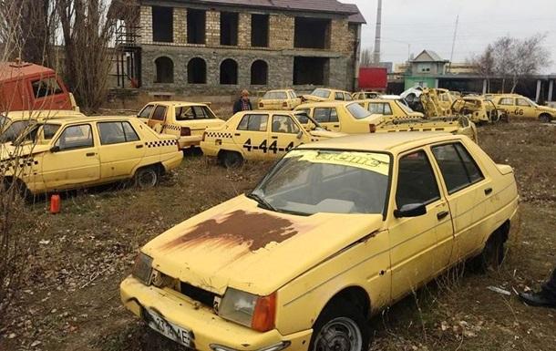 В сети показали кладбище старых  Запорожцев