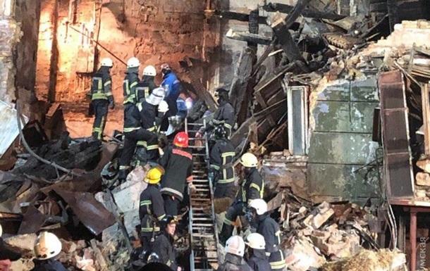 Пожар в Одессе: трое пострадавших все еще в больнице