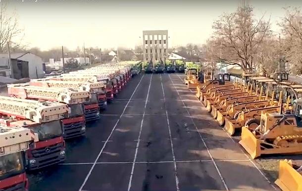Україна отримала рятувальну техніку з Китаю на сотні мільйонів