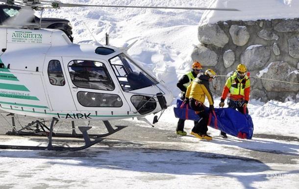 Альпы накрыли лавины, есть жертвы и пострадавшие