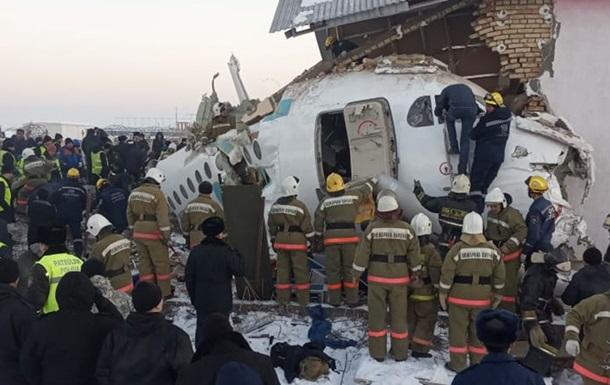 Падіння літака в Казахстані: зросла кількість жертв