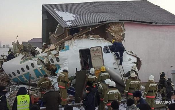 Аварія літака в Казахстані: уточнено число жертв
