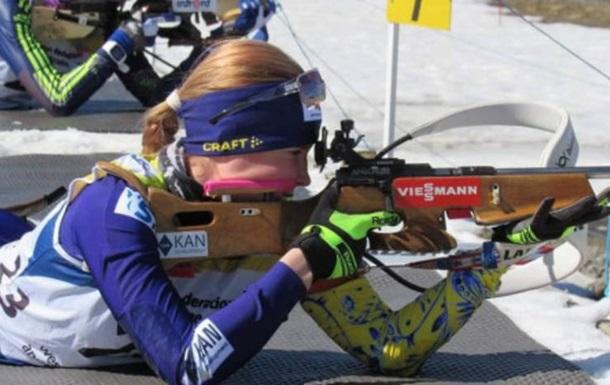 Олександра Меркушина в 14 років увійшла в історію українського біатлону