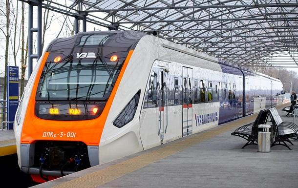 Між Києвом і Борисполем запустили новий український потяг