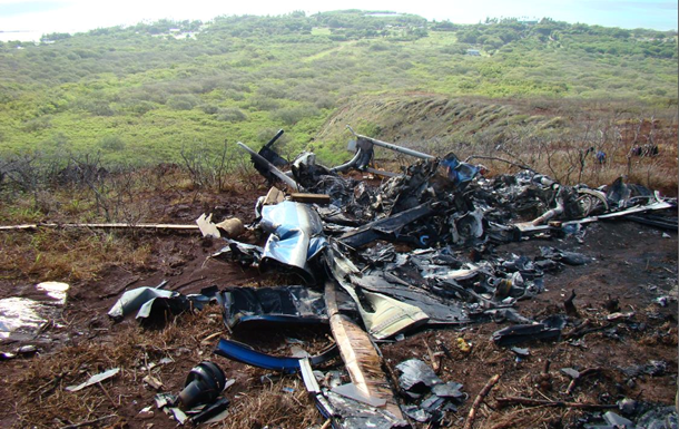 На Гаваях розбився вертоліт: шестеро людей загинули