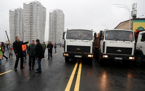 У Києві відкрили рух Шулявським мостом