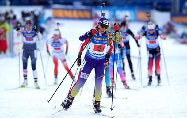 Украина заняла третье место в масс-старте Рождественской гонки