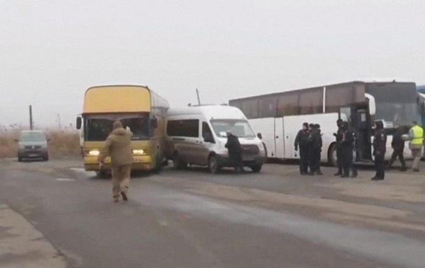 Обмен пленными: автобус с украинцами попал в ДТП