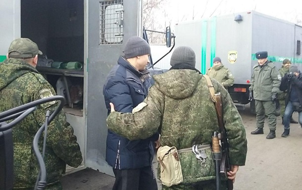 Сепаратисты передали первую группу украинцев