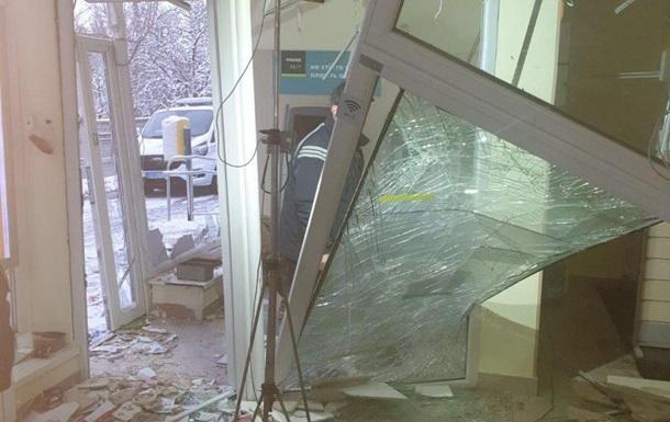У Вінниці вибухом пошкоджено відділення Ощадбанку