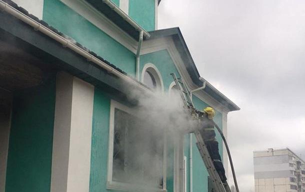 У Херсонській області сталася пожежа в церкві