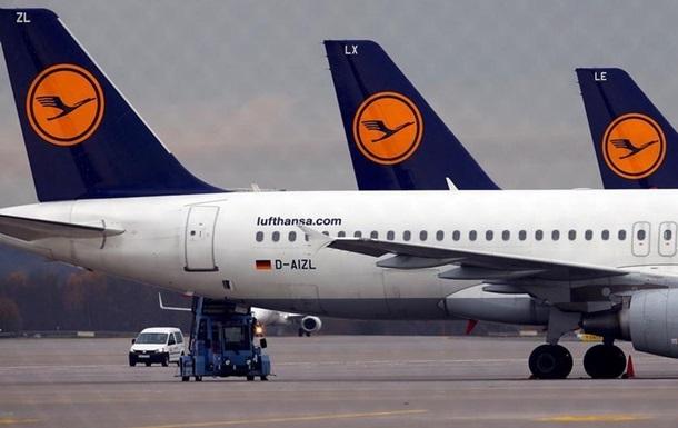 Lufthansa отменила почти 200 рейсов из-за забастовки