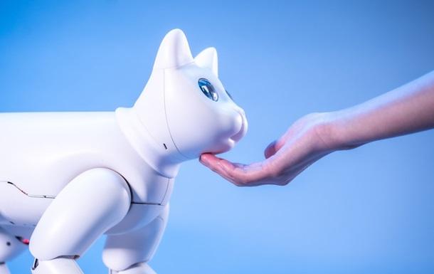Китайцы изобрели робота-кошку с шестью эмоциями
