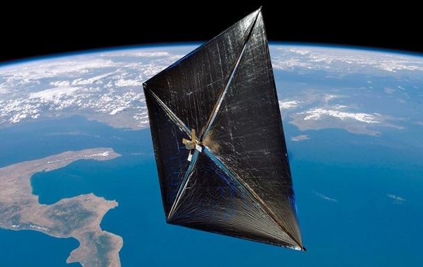 Китай начал тестирование солнечного паруса на орбите