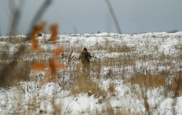 На Новий рік військові на Донбасі не постраждали
