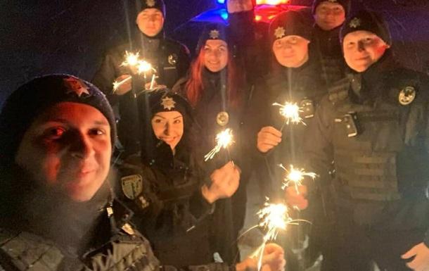 Поліція відзвітувала про порушення в новорічну ніч